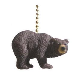 Black Bear Decorative Ceiling Fan Light Pull