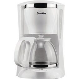Brentwood TS-216 12-Cup Coffee Maker 900W White Home & Garde