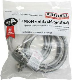 Certified Appliance Accessories 2 pk Braided Stainless Steel