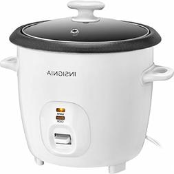 Insignia - 2.6-Quart Rice Cooker - White 14 cup capacity