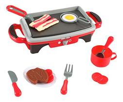 Liberty Imports Kitchen Set Breakfast Griddle Electric Stove