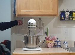 MixerMaid, the KitchenAid mixer attachment holder for 4.5 an