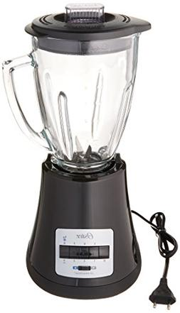Oster BLSTMG Black 8 Speed 6-Cup Glass Jar Blender, 220 Volt