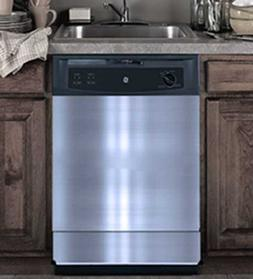Replacement Dishwasher Door Panels, Stainless, Cut to Your D