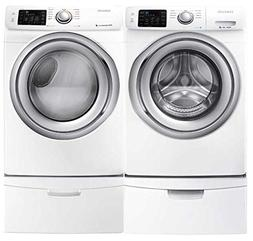 Samsung- High-Efficiency Front-Loading Laundry Featuring 4.2