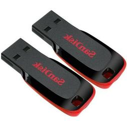 SanDisk 16GB x2= 32GB Cruzer Blade USB Thumb Pen Flash Drive