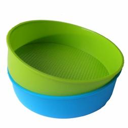 Silicone Mould Bakeware 26cm/10inch Round Cake Form Baking P