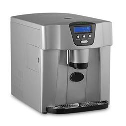Upgraded NutriChef Digital Portable Ice Maker Machine | Coun