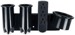 """""""Wells"""" Station Appliance Dryer Iron Holder W/Outlet"""