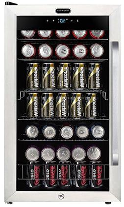 Whynter BR-1211DS Freestanding 121 Can Beverage Refrigerator