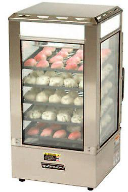 A.J. Antunes Roundup Steamer Display Cabinet 120V Model Sdc-