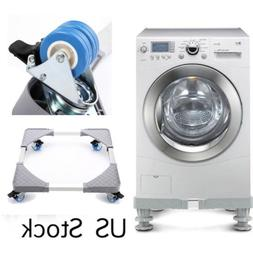 Adjustable Washing Machine Refrigerator Base Laundry Pedesta