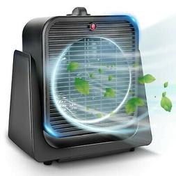 TRUSTECH Air Circulator Fan 2 in 1 Portable Quiet Cooling w/