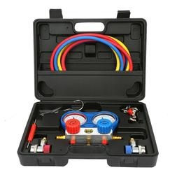 Air Conditioning AC Diagnostic A/C Manifold Gauge Tool Set R