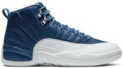 Air Jordan 12 Indigo Retro Stone Blue White Obsidian 130690-