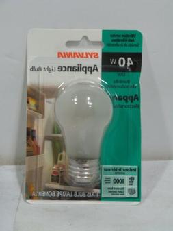 Sylvania Appliance Light Bulb 40W A15 IF Pack of 6