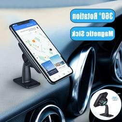 360° Magnetic Car Mount Cell Phone Holder Stand Dashboard U