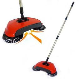 Automatic Spin Sweeper 3 in 1 Floor Sweeping Brush Broom, Du