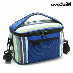 Nistova® Bag Insulated Lunch Bag Refrigerated Lunch Box Tot