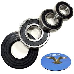 HQRP Bearing and Seal Kit for Whirlpool WFW9600TW00 WFW9600T