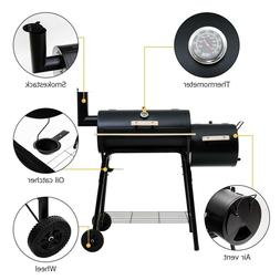 BBQ Grill Smoker Camping Charcoal Outdoor Barbecue