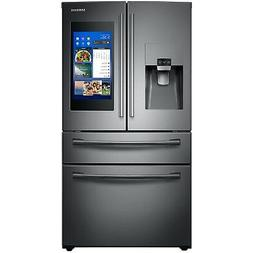 Samsung Black Stainless 4 Door French Refrigerator Family Hu