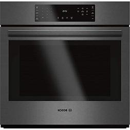 "Bosch 30"" Black Stainless Steel 800 Series Single Wall Oven"