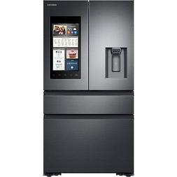 Samsung Black Stainless Steel Counter-Depth 4-Door Refrigera