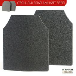 Body Armor AR500 Level 3 Set Of Curved 10x12 Plates In Stock