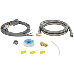 Braided Stainless Steel Dishwasher Installation Kit
