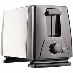 Brentwood Appliances TS-280S 2-Slice Toaster, Medium Black