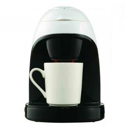 Brentwood TS-112W White Single Cup Coffee Maker
