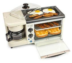 Nostalgia Bset100Bc 3-in-1 Toaster Ovens, 2 Slice, Bisque