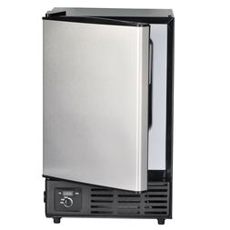 SMAD Built-in Undercounter Ice Maker with Freezer 12 lbs/day