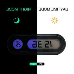 Car Suv Air Conditioner Vent Outlet Digital Clock Thermomete