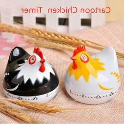 Cartoon Chicken Mechanical Timer Alarm Clock Kitchen Home Co