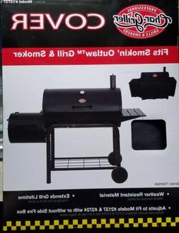 Char-Griller Smokin Champ Outdoor Grill Smoker Cover Protect