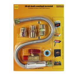 Charman One-Stop Universal Gas-Appliance Hook-Up Kit Heater