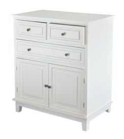 Chest of Drawers White Dressers Side Cabinet Table for Bedro