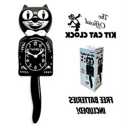 """CLASSIC BLACK KIT CAT CLOCK 15.5"""" MADE IN USA Official Klock"""