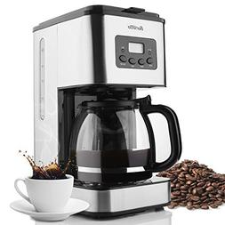 Barsetto 10-Cup Classic Thermal Programmable Coffee Maker Wi