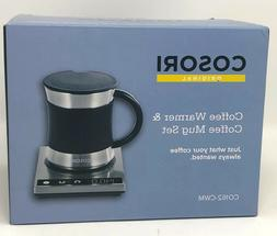 Cosori CO162-CWM Coffee Warmer & Mug Set Electric 24Watt Bev