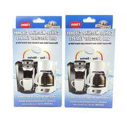 Parker & Bailey Coffee Machine Cleaner & Descaler Tablets -