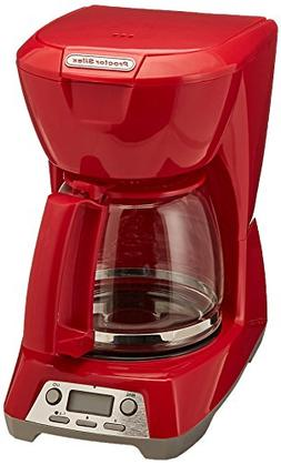 Digital Coffee Maker Color: Red