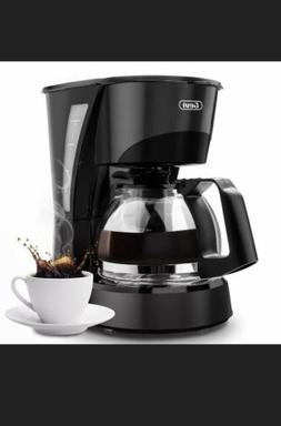 Coffee Maker Barsetto 4 Cup Coffee Machine Plastic Silent Op