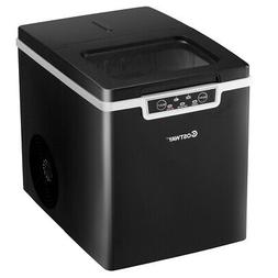 Compact Ice Maker Countertop Ice Machine 26Lbs/24H Portable