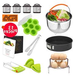 Kyonano 13 Pcs Accessories Compatible with Instant Pot 5,6,8