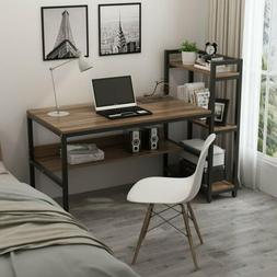 """Tribesigns Computer Desk with 4-Tier Storage Shelves, 60"""" Of"""