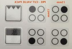 Cooker Oven Stove Range Hob Stickers Symbols Replacement Lab