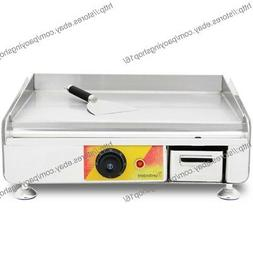 Cooktop Stainless Steel Commercial Electric Cooking Griddle
